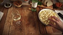 Here's how to pair wines with snacks like popcorn and nachos