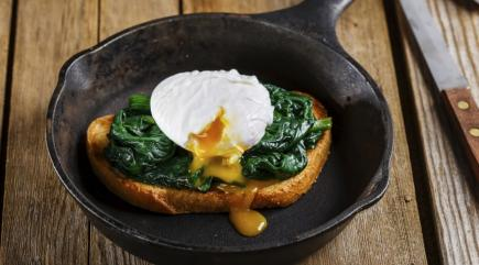 Here's some poached egg porn to give you some breakfast inspiration