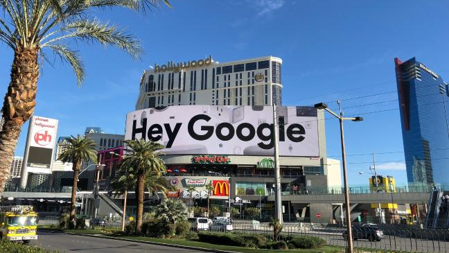 Hey Google, did you enjoy taking over CES? - BT