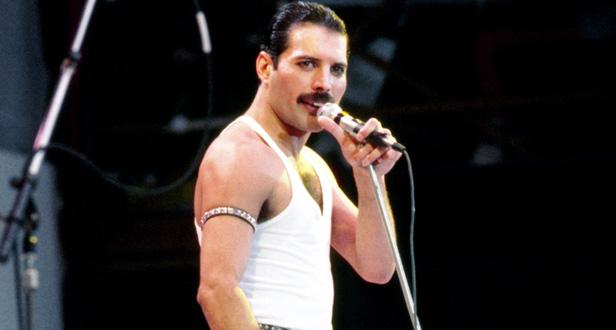 Freddie Mercury at Live Aid (PA)