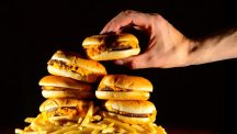 Eating too much food rich in saturated fat may make a person more prone to inflammation, scientists say