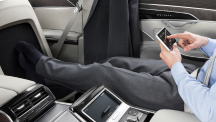 High-tech features on board the all-new Audi A8