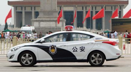 High-tech police car 'can scan criminals' faces while ...