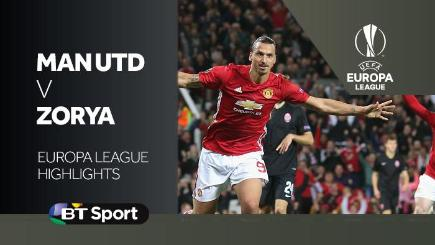 Highlights: Man United 1-0 Zorya Luhansk
