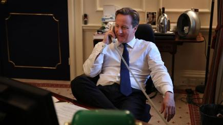 Downing Street said the PM ended the call when it became clear it was a hoax