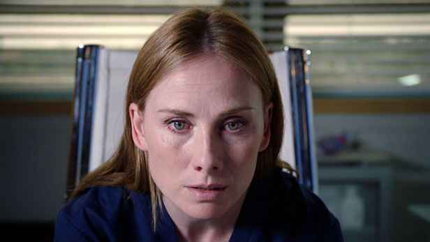 Jac Naylor played by Rosie Marcel in Holby City