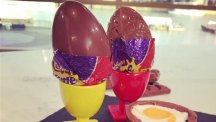 Holly and Phil make their own Creme Egg with Paul A Young