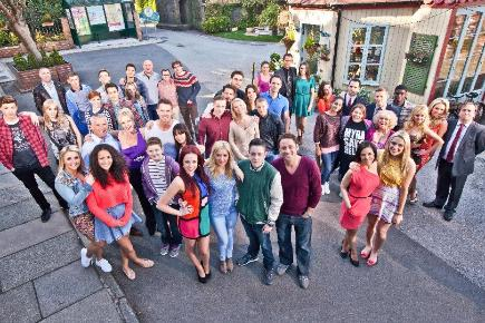 Fans can catch up with the Hollyoaks cast on Snapchat