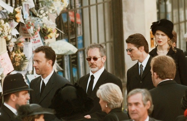 Tom Hanks, Steven Spielberg, Tom Cruise and Nicole Kidman were among the Holllywood stars at the Abbey.