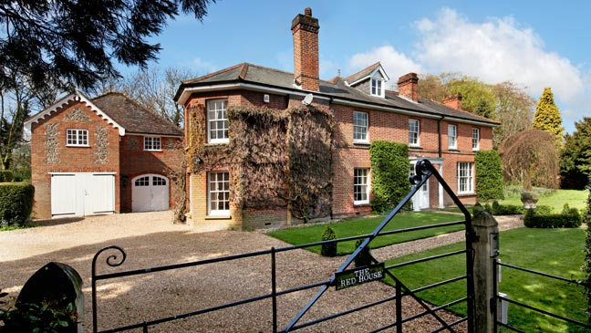 bake off mary berry s former family home on the market for
