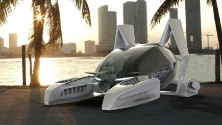 Hoversurf, the company behind the world's first hoverbike, unveils plans for flying five-seater taxi
