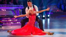 Debbie McGee on Strictly