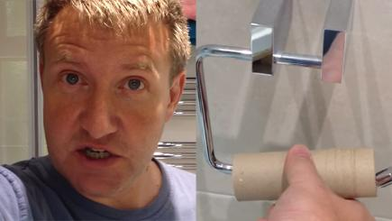How to change a loo roll