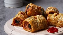 How to make Candice Brown's black pudding sausage rolls
