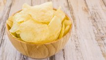 Crisps in a bowl