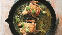 How to make Gennaro Contaldo's baby chicken in a cider vinegar sauce