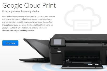 Step 5: Print using Google Cloud Print