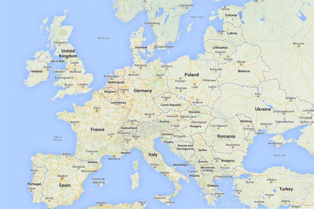 Map Of Germany Google.How To Use Google Maps Bt
