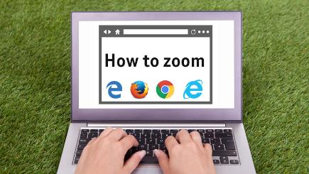 How to zoom on your web browser