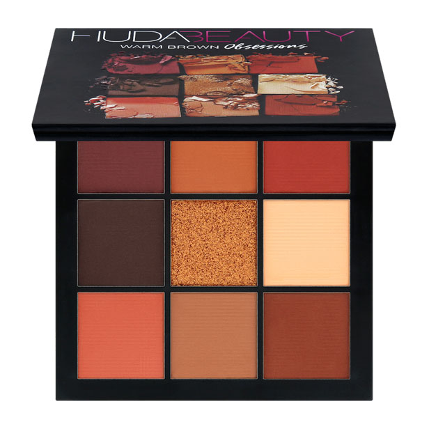 Huda Beauty Warm Brown Obsession