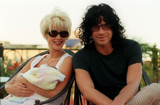 Paula Yates, Michael Hutchence and their daughter Tiger Lily a few months before his death.