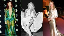 Iconic party dresses