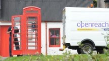 Iconic red payphone kiosks swapped for superfast fibre broadband