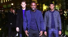 Idris Elba leads the fashion pack at the launch of his new menswear collection