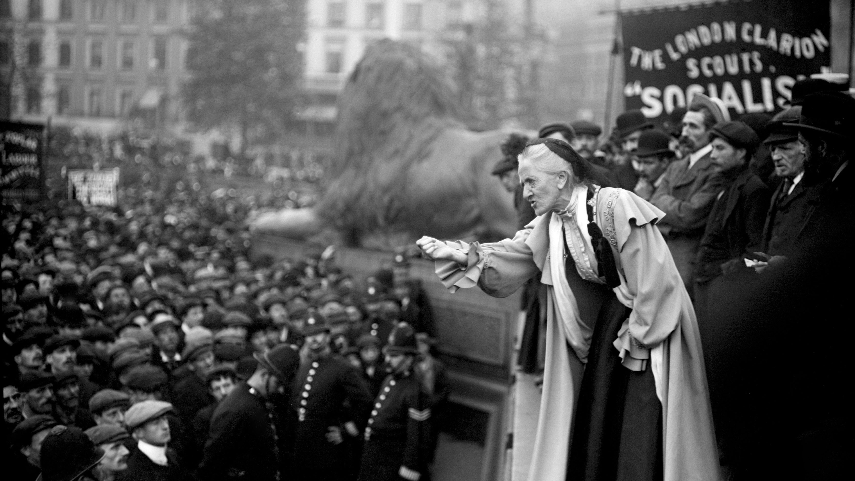Labour says it will pardon Suffragettes fighting for the vote