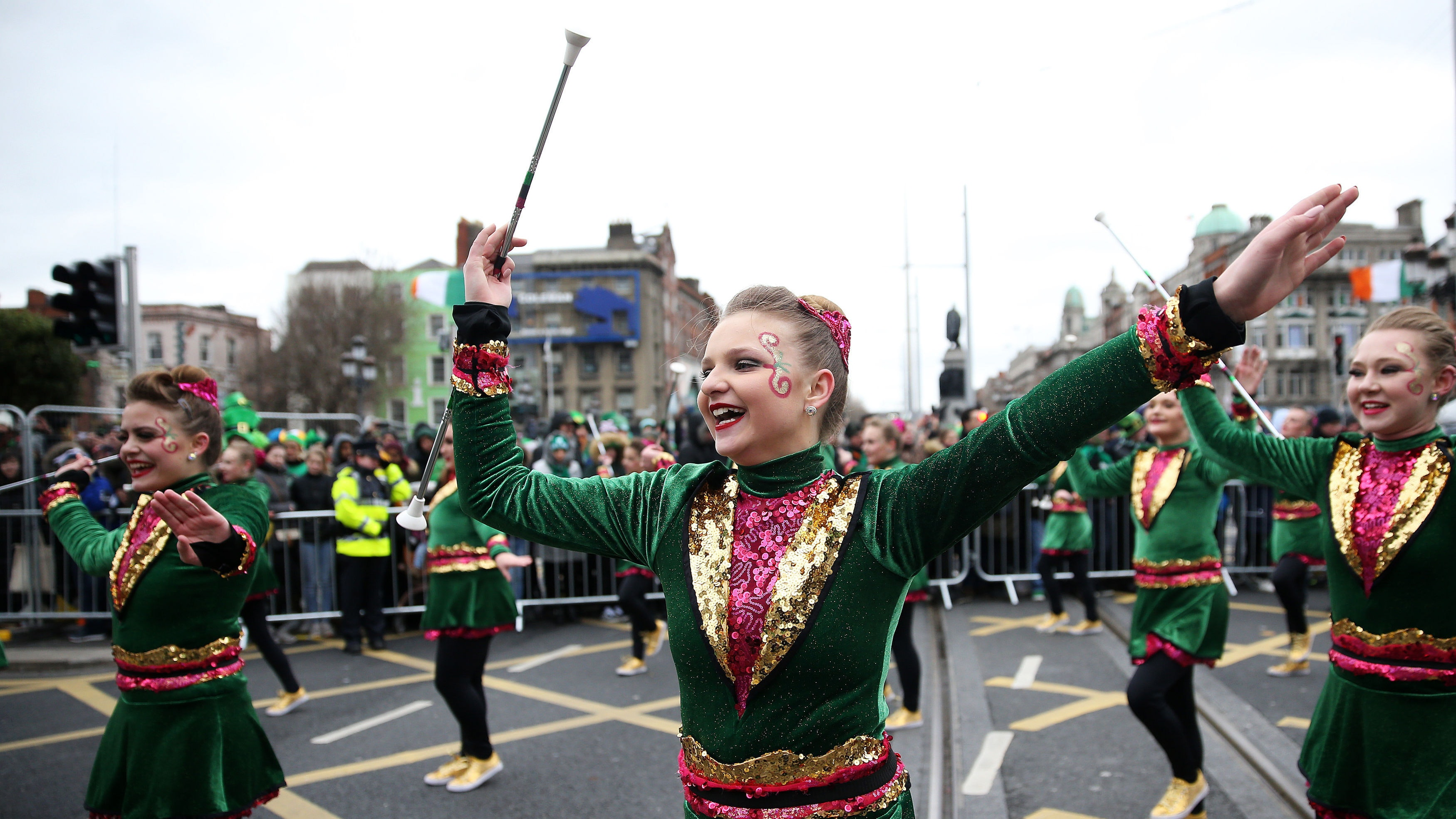 In Pictures St Patrick S Day Parades In Dublin And