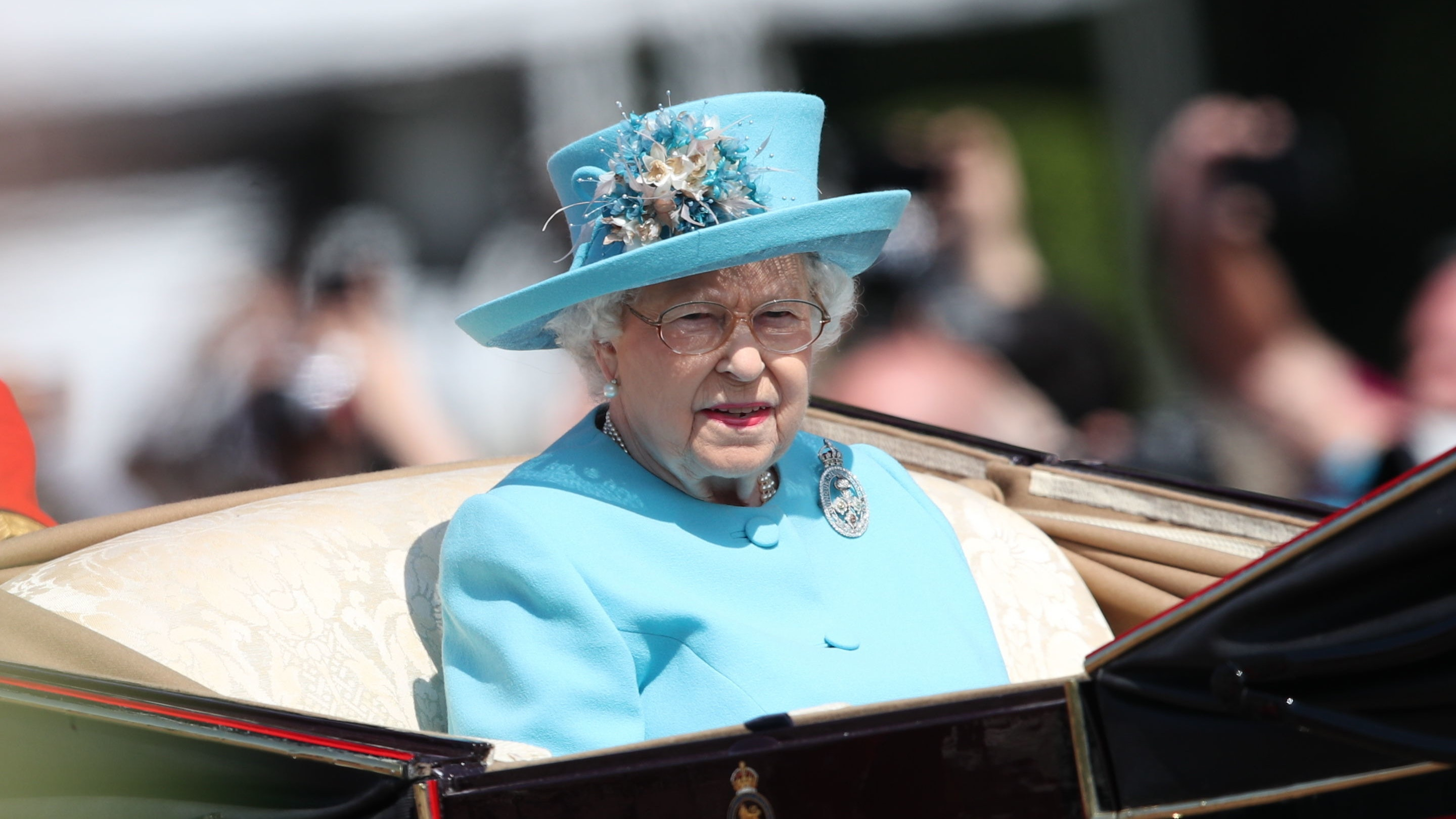 Royals join Queen at birthday parade