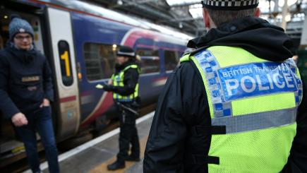 Armed police to patrol United Kingdom  trains after Manchester attack