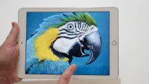 The iPad Air 2 is demonstrated at Apple headquarters on Thursday,
