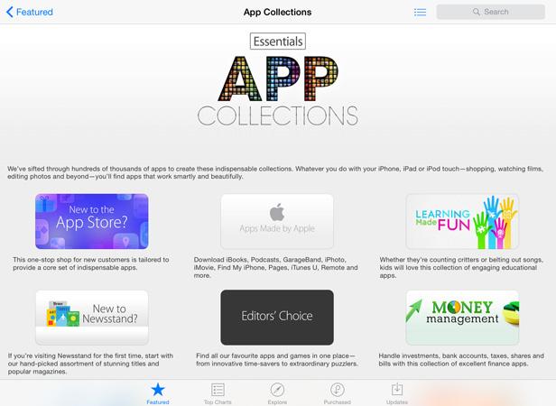 iPad apps 3 new