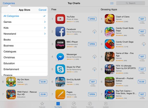 Apple iPad apps new1