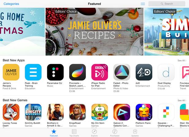 Apple iPad apps 2 new
