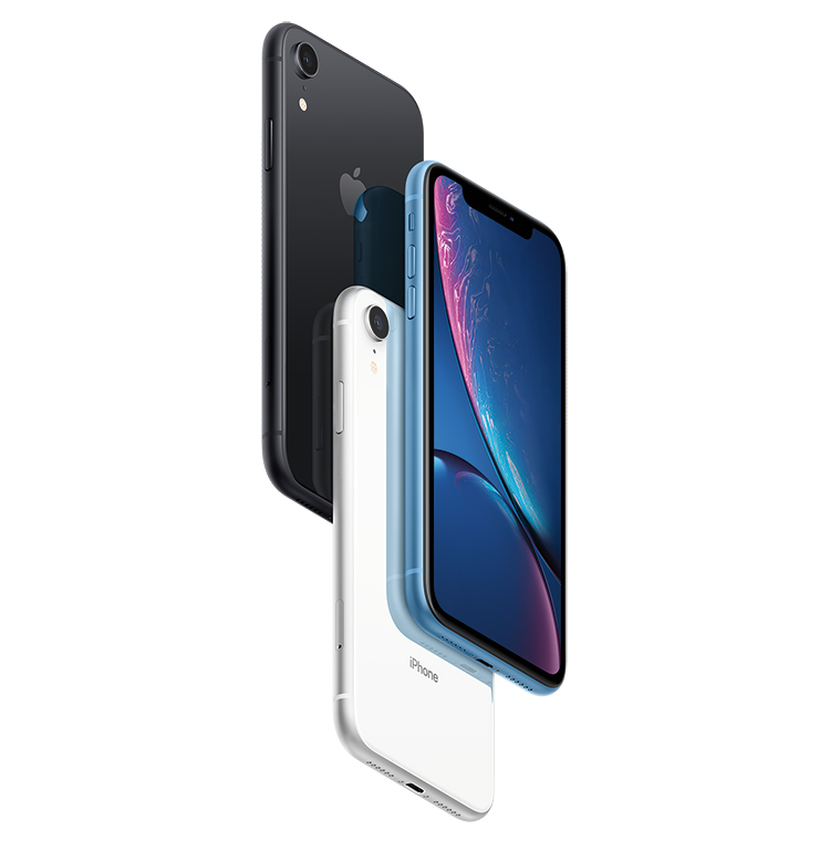 iPhone XR on BT Mobile