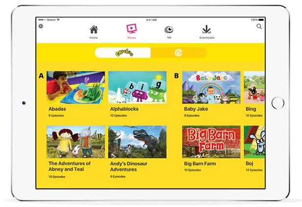 BBC iPlayer Kids app launches - BT