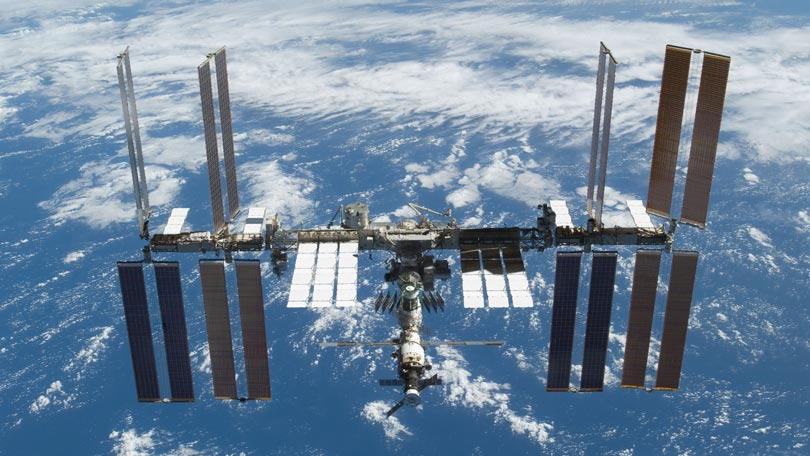 The International Space Station - the tracker, watching it ...