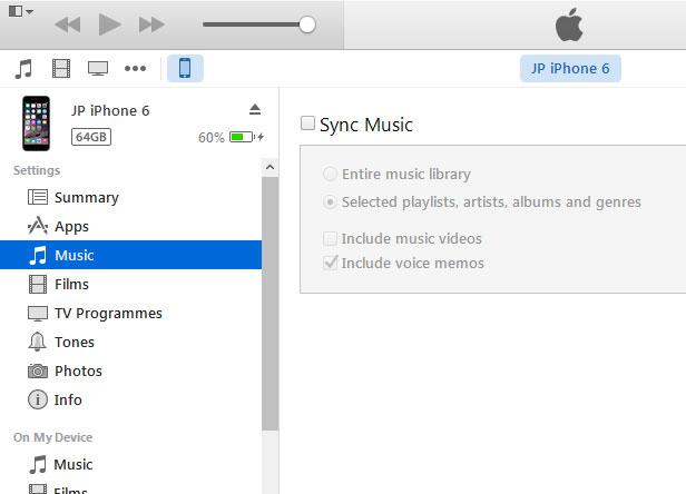 iTunes music sync 03