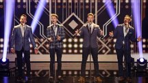 Jack Pack perform on Britain's Got Talent  Photo credit: Tom Dymond/Thames/REX
