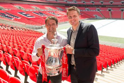 Jake Humphrey and Michael Owen are part of BT Sport's football coverage team
