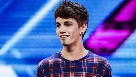 Jake Sims was said to have posted messages about cannabis on Twitter last year (SYCO/THAMES TV)
