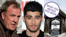 Jeremy Clarkson, Zayn Malik and snow in North Yorkshire