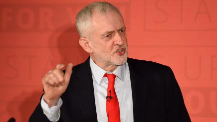 Jeremy Corbyn declares Labour will NOT back second Brexit referendum