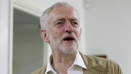 Jeremy Corbyn signalled his determination to keep his job