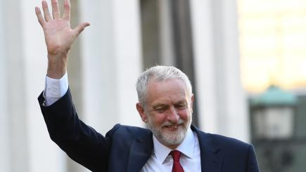 May, Corbyn clash over Brexit plans with UK vote 1 week away