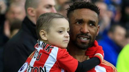 Jermain Defoe to appear at terminally ill fan Bradley Lowery's sixth birthday party