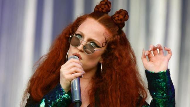 a374bcd2cd43d Jess Glynne dazzles at Glastonbury after missing out last year - BT