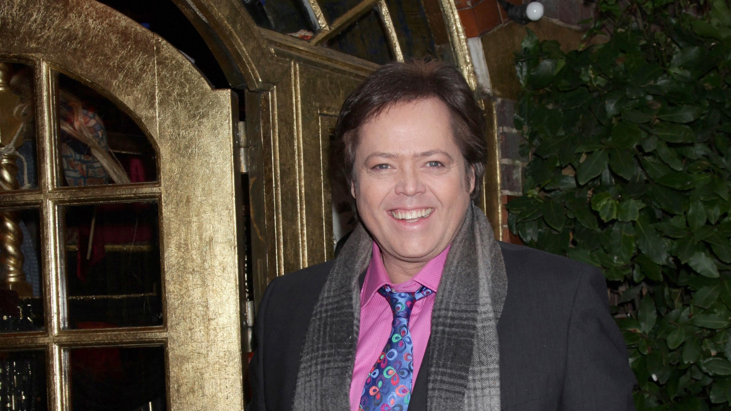 Jimmy Osmond suffers stroke on stage in pantomine